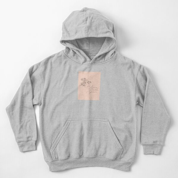 Bloom with grace Kids Pullover Hoodie