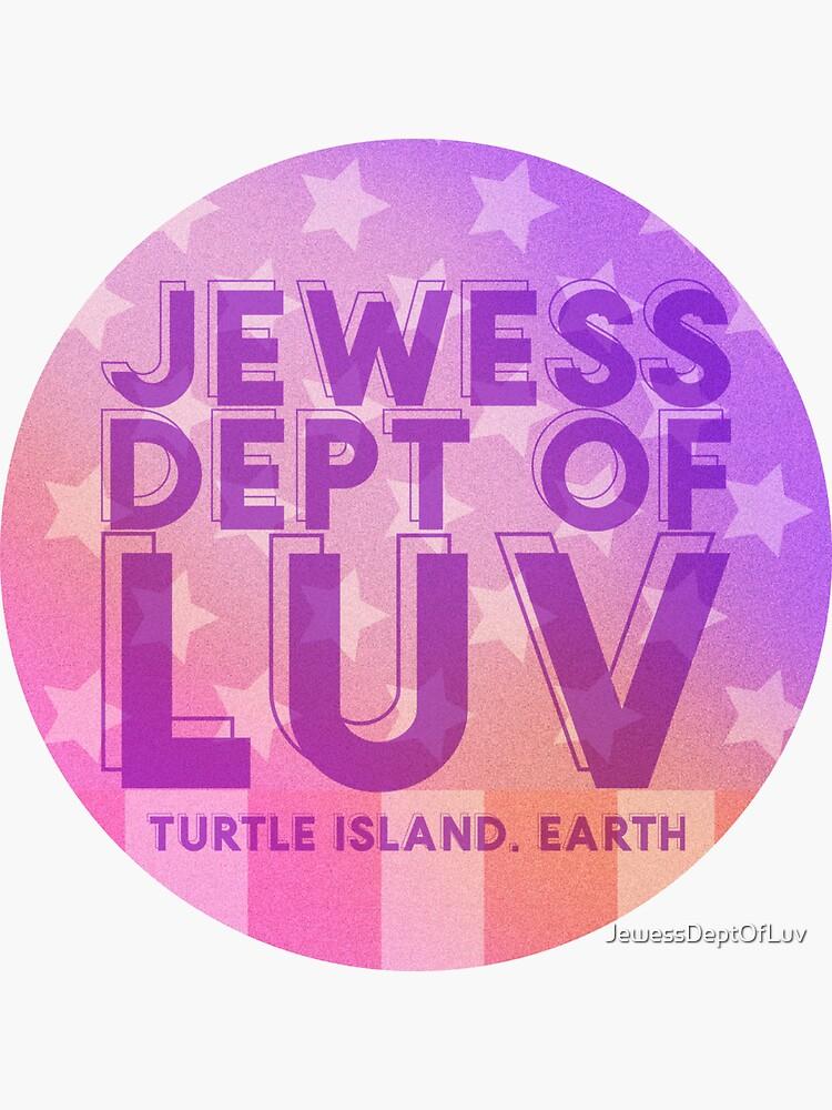 Jewess Dept of Luv [vibrant purple logo] by JewessDeptOfLuv