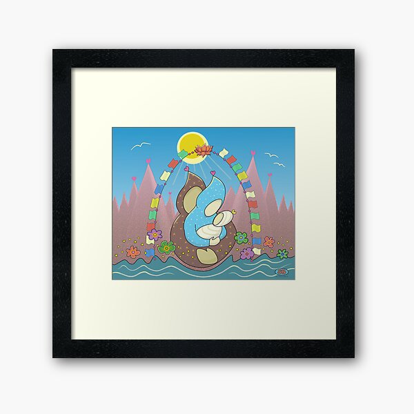 My Daughter is a Mother Framed Art Print