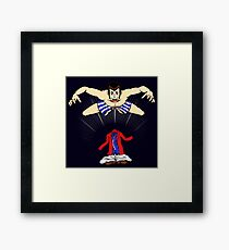 Lupin's Best Skill (Red Version) Framed Print