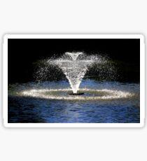 Fountain in Quarry Park, Shrewsbury Sticker
