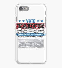 Yauch for President iPhone Case/Skin