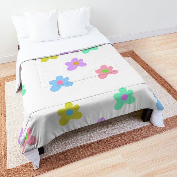 y2k/indie flowers Comforter