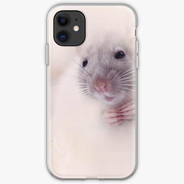 Snoozy in pink iPhone Soft Case