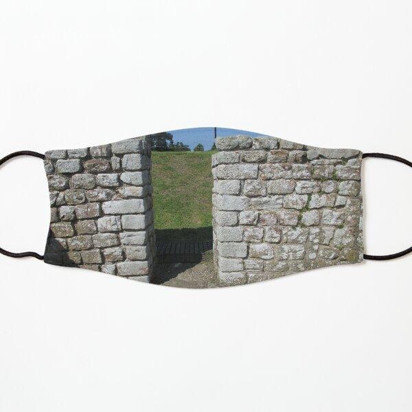 M.I. #122  ☼  Rocks And Bricks - Shot 15 (Hadrian's Wall) Kids Mask