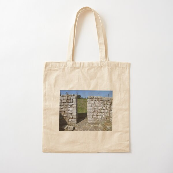 M.I. #122 |☼| Rocks And Bricks - Shot 15 (Hadrian's Wall) Cotton Tote Bag