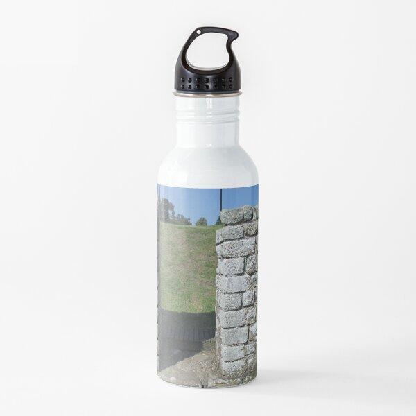 M.I. #122 |☼| Rocks And Bricks - Shot 15 (Hadrian's Wall) Water Bottle