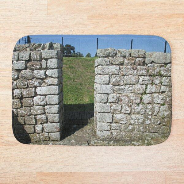 M.I. #122 |☼| Rocks And Bricks - Shot 15 (Hadrian's Wall) Bath Mat