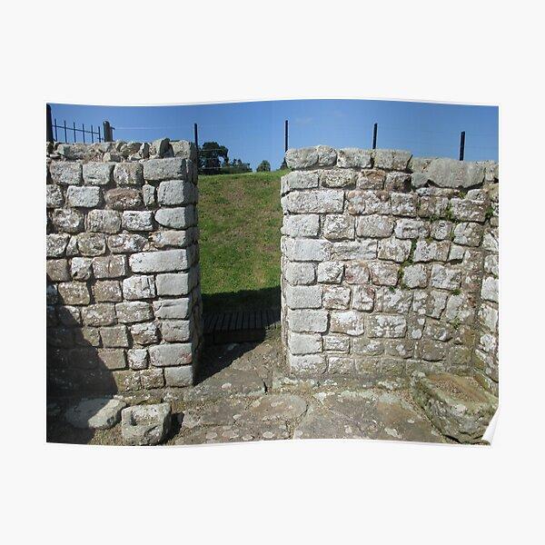 M.I. #122  ☼  Rocks And Bricks - Shot 15 (Hadrian's Wall) Poster