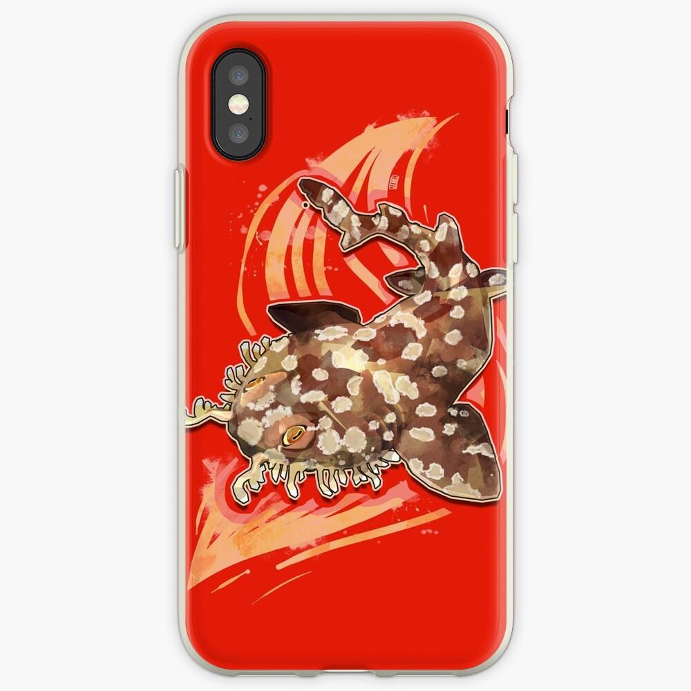 Tiburón Wobbegong Funda y vinilo para iPhone