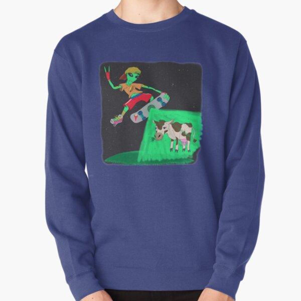 Alien New Wave Pullover Sweatshirt