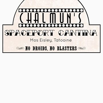 Chalmun's Spaceport Cantina, Mos Eisley v2 by jcharlesw