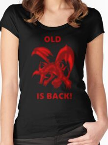 Old Red-Eyes B. Dragon Is Back! Women's Fitted Scoop T-Shirt