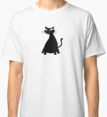 Black Fat Cat Classic T-Shirt