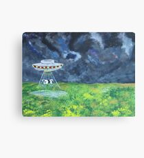 A Funny Thing Happened on the Way to Dulce Base Canvas Print