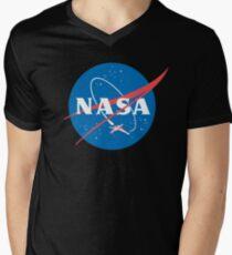 Nasa X Wing Fighter Men's V-Neck T-Shirt