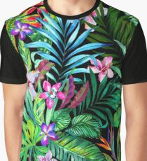 Camiseta gráfica Fest tropical