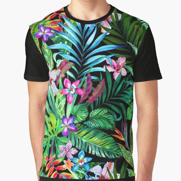 Tropical Fest Graphic T-Shirt