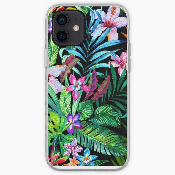 Fête tropicale Coque souple iPhone