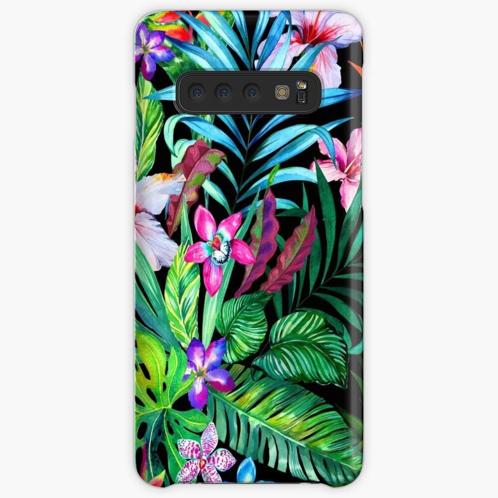 Tropisches Fest Hülle & Klebefolie für Samsung Galaxy