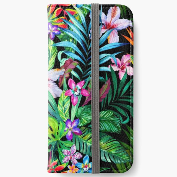Tropical Fest iPhone Wallet