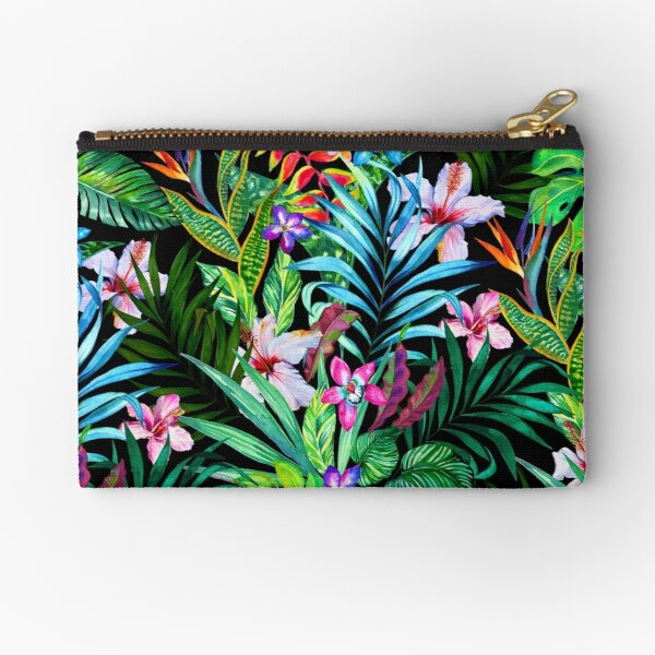 Tropical Fest Zipper Pouch