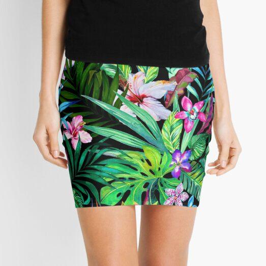 Tropical Fest Mini Skirt