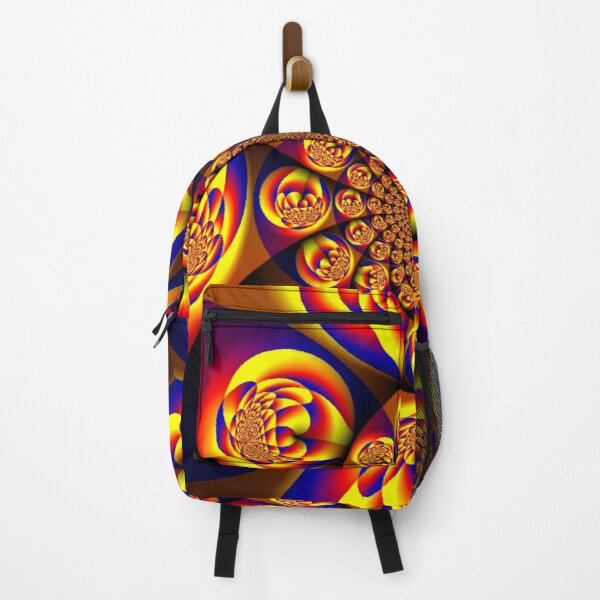 Blue, Yellow, Gold, Mini Spheres Backpack