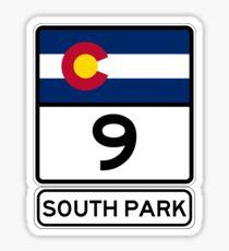 CO-9 SOUTH PARK Sticker