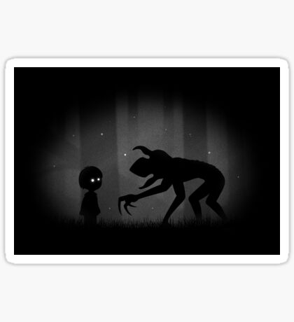 The Lost Boy and the Demogorgon Sticker
