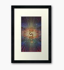 Earth Tree Framed Print