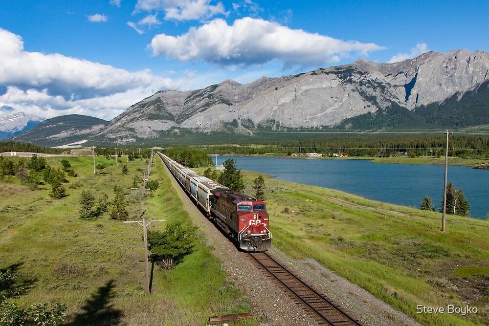 Rocky Mountain Train by Steve Boyko