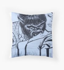 by night  Throw Pillow