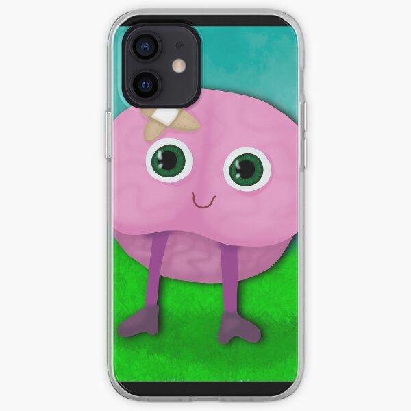 Happy Healing Brain iPhone Soft Case
