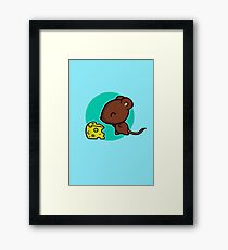 Cute Mouse Framed Print