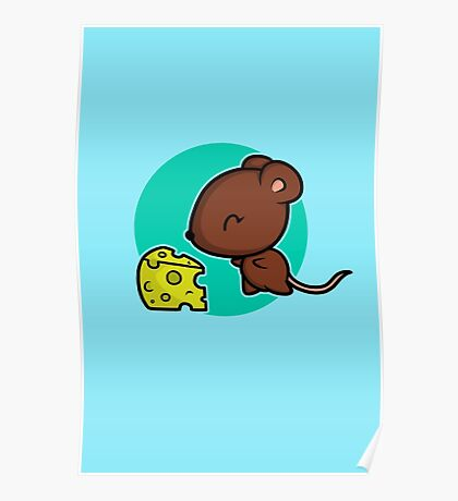 Cute Mouse Poster