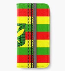 Stammes-Kanaka Maoli iPhone Flip-Case/Hülle/Skin