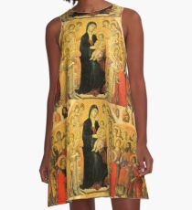 Mary and Jesus A-Line Dress