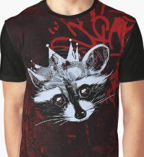 King Raccoon · Rey Mapache Ver.4 Graphic T-Shirt