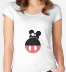 Mouse droid Women's Fitted Scoop T-Shirt