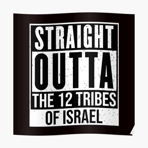 Black-Hebrew-Israelite-T-shirt Poster