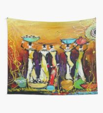 African Tribe Wall Tapestry