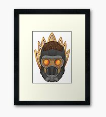 Dork-Lord Framed Print
