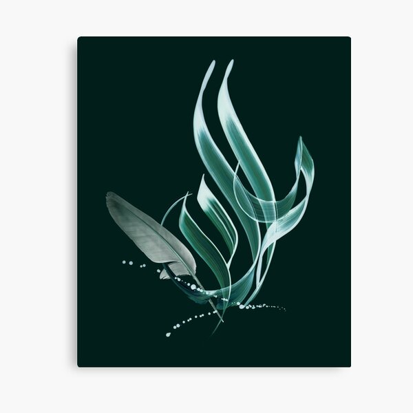 Bird (Arabic) Canvas Print