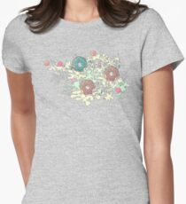 Pastel Camo Sweets Womens Fitted T-Shirt
