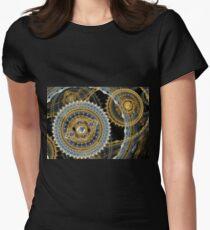 Steampunk machine Womens Fitted T-Shirt