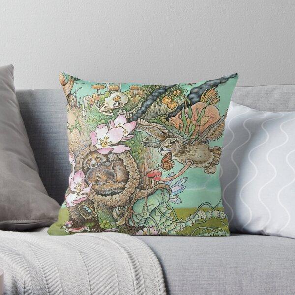 The Secret (Detail) Throw Pillow