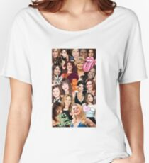The Women of SNL collage Women's Relaxed Fit T-Shirt