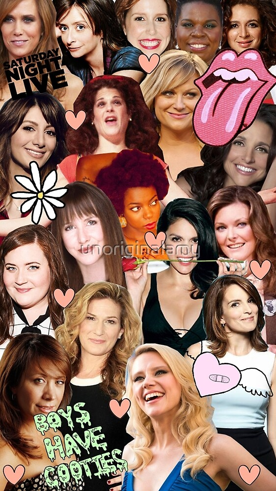 The Women of SNL collage by unoriginalamy