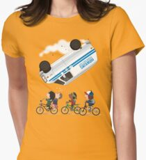 STRANGER PEANUTS Womens Fitted T-Shirt